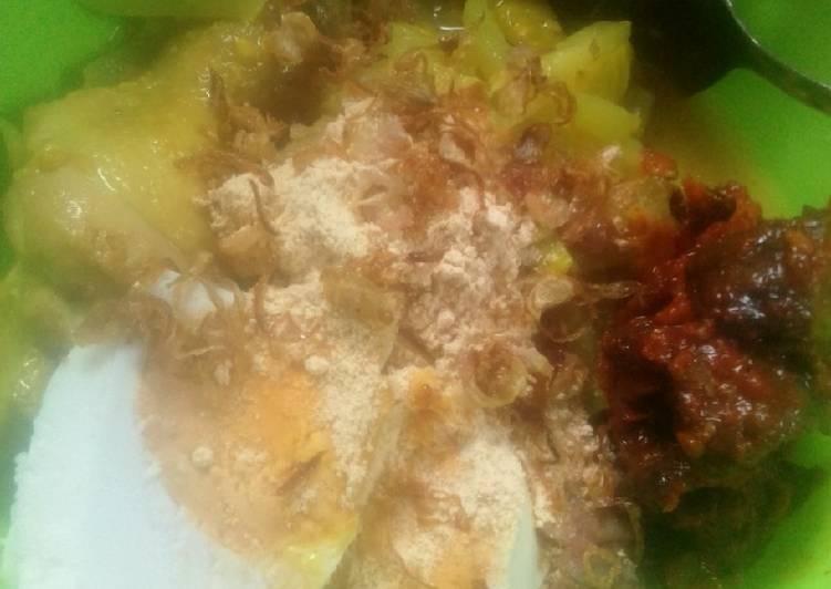 Resep mengolah Lontong beras merah cap go meh enak