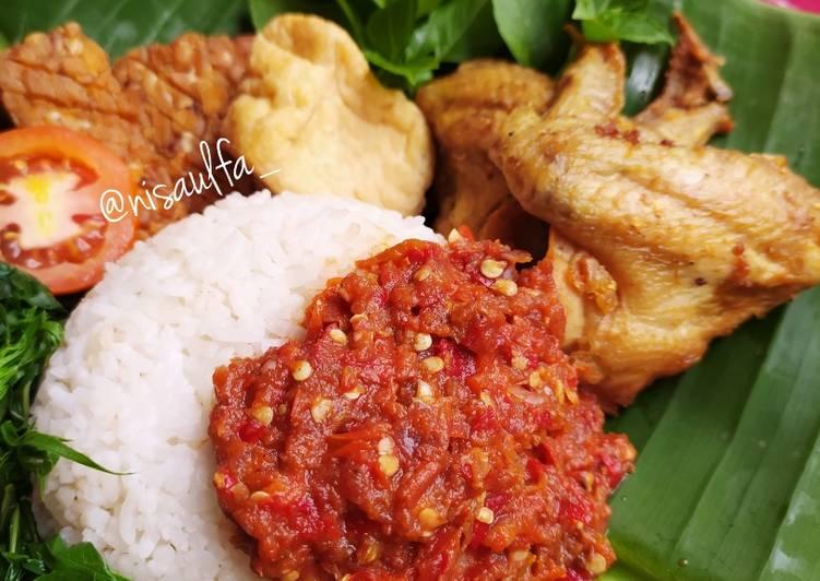 Cara memasak Sego Tempong Banyuwangi yang menggugah selera