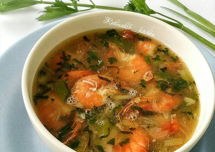 Resep Sup Udang Yang Menggugah Selera Resep Enyak