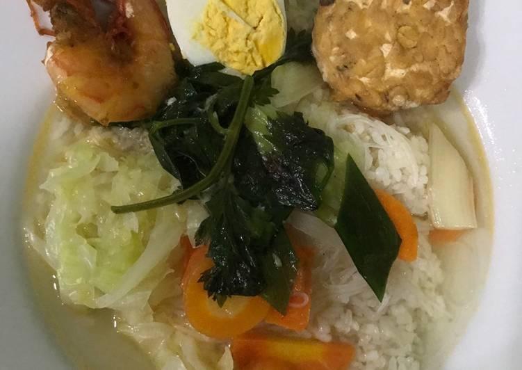 Resep memasak Sop udang sederhana lezat