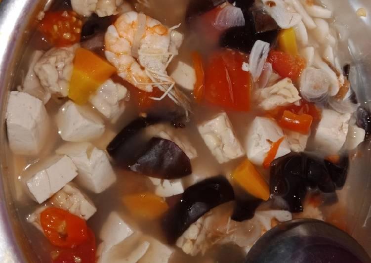 Cara Mudah memasak Sop Udang Non MSG yang bikin ketagihan