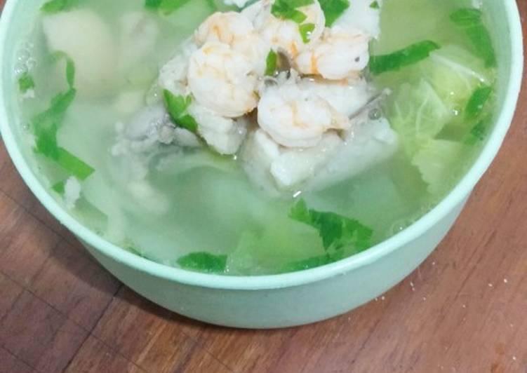 Resep: Sayur Sop Ayam Udang Simple ala Anak Kos enak