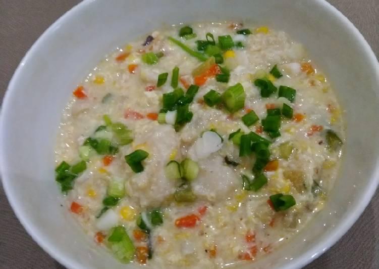 Resep: Sup krim tekwan dan udang