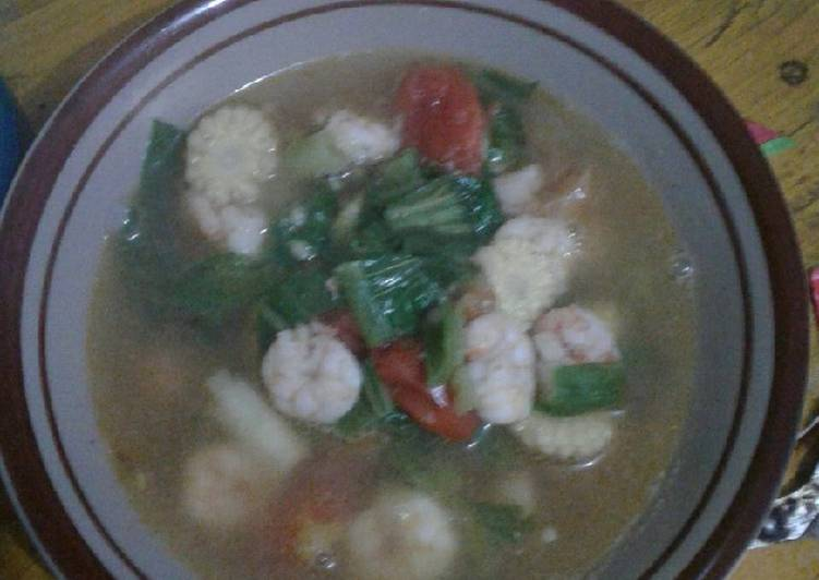 Resep: Sup udang istimewa