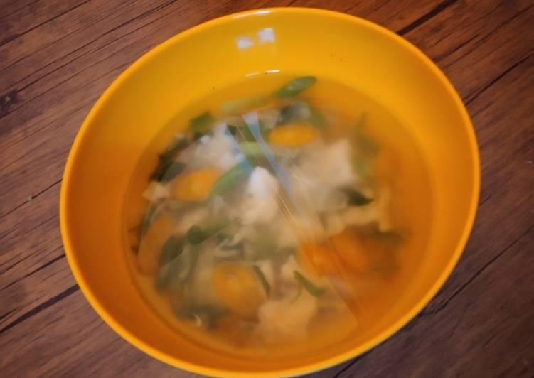 Resep: Soup somay udang enak