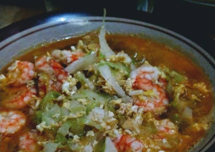 Resep: Sup udang telur yang bikin ketagihan