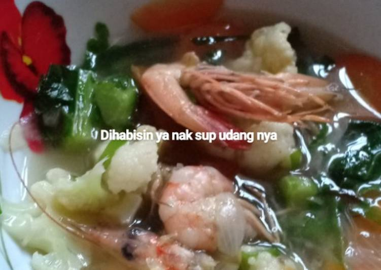 Resep: Sup udang brokoli buat si kecil