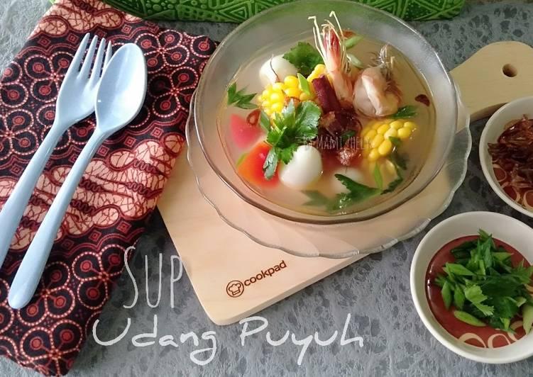 Resep: Sup Udang Puyuh yang menggugah selera