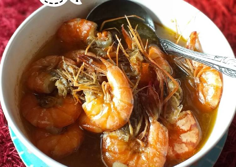 Resep memasak Sop udang simple enak