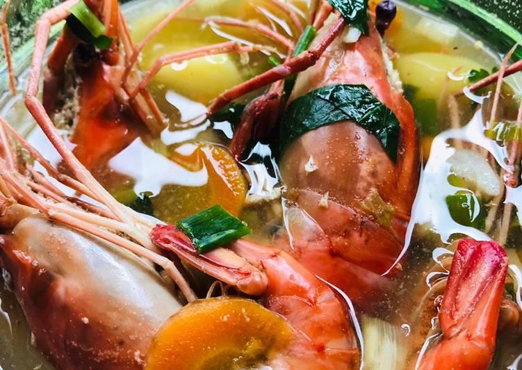 Resep: Sup Udang ala resto
