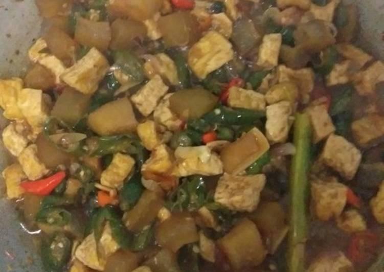 Resep memasak Cecek tahu di cabe in yang menggugah selera