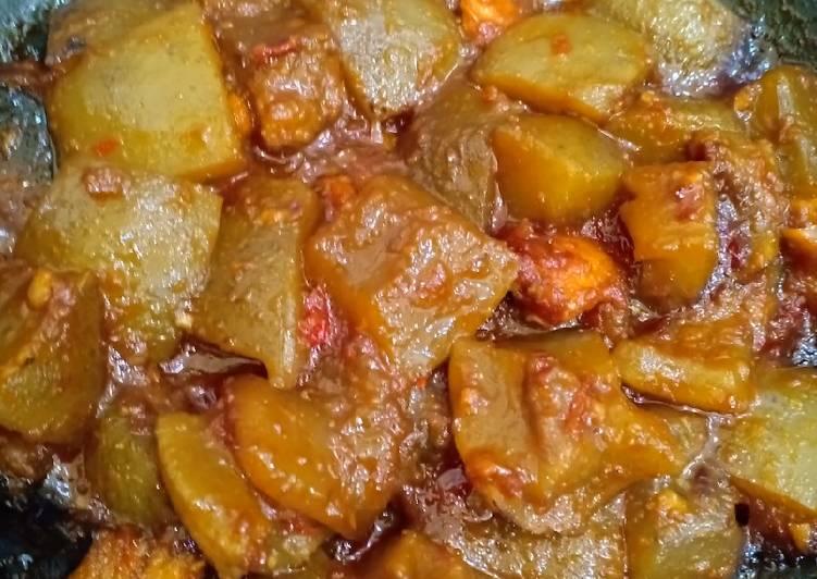 Cara Mudah memasak Cecek/kikil pedas manis ala resto