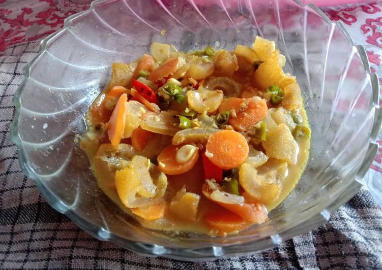Resep memasak Tumis cecek + wortel yang bikin ketagihan