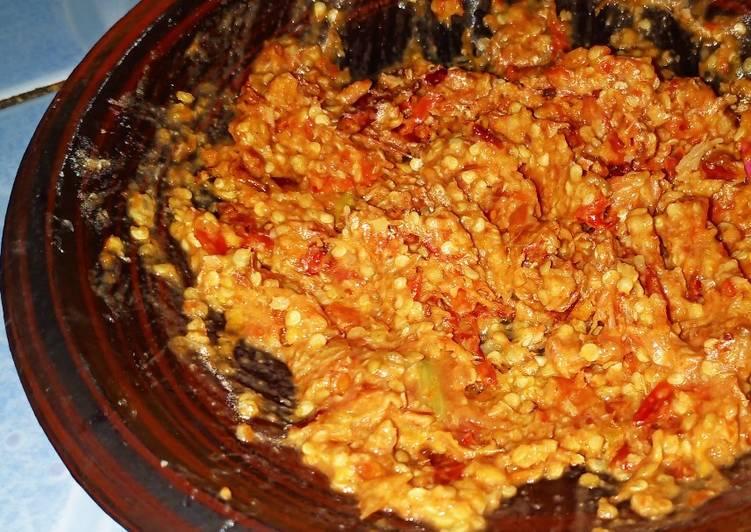 Cara membuat 2. Sambal soto (sambal miri jawa) enak