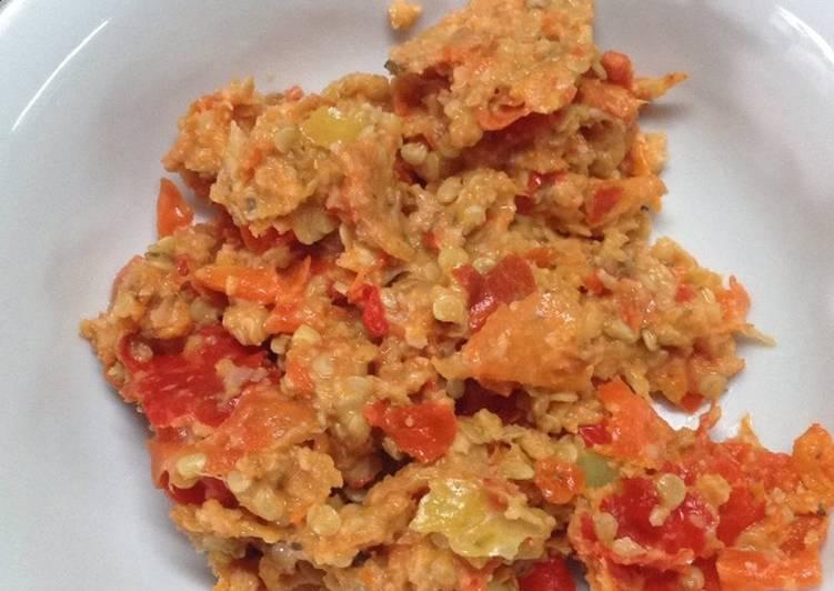 Resep memasak Sambal kemiri soto daging istimewa