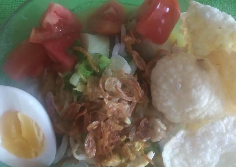 Resep: Soto Ayam 🐔🥚🍅🌶️🍋👩🍳By Ellen yang bikin ketagihan