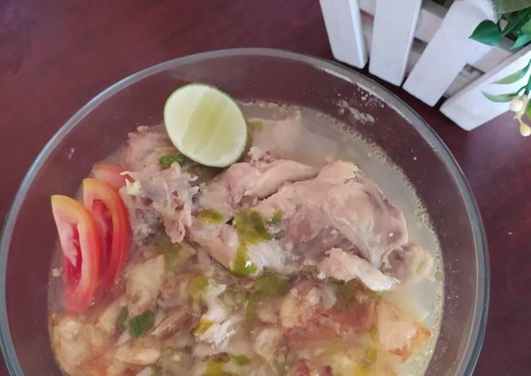 Resep: Soto ayam yang menggugah selera