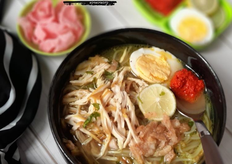 Cara memasak SOTO AYAM 😍 yang menggugah selera