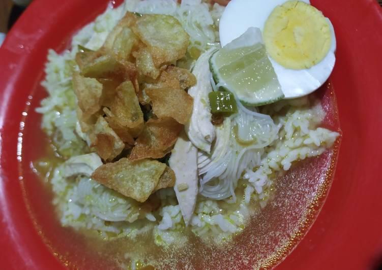 Cara Mudah mengolah Soto ayam lengkap kuah bening yang menggugah selera