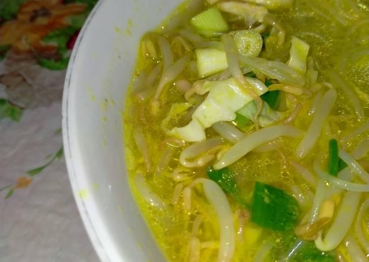 Resep mengolah Soto Ayam by Mami Kala yang menggugah selera