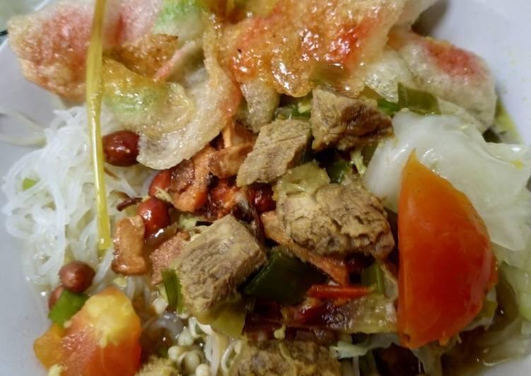 Resep mengolah Soto daging sapi
