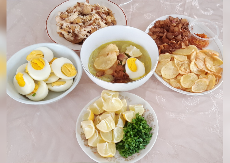 Cara membuat Soto Ayam yang bikin ketagihan
