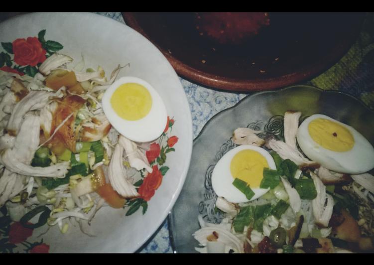 Cara membuat Soto ayam simple