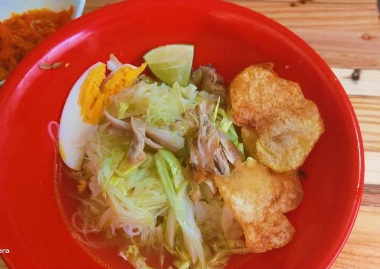 Resep: Soto Ayam Jawa Timuran yang bikin ketagihan
