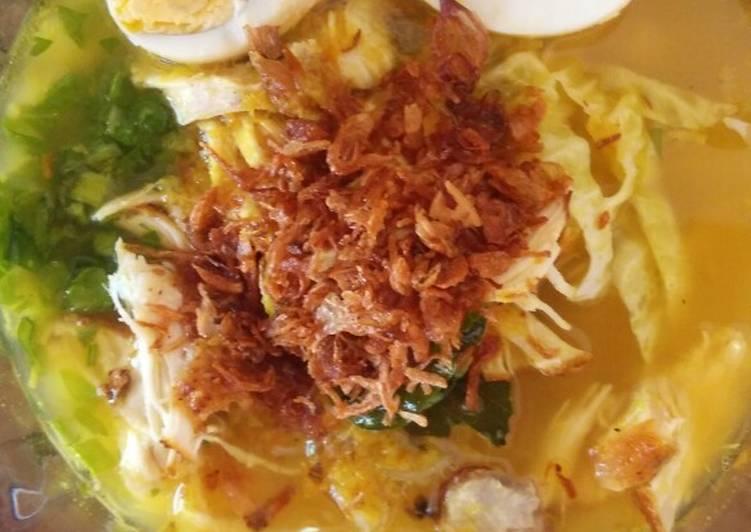Resep: Soto Ayam Lamongan yang bikin ketagihan