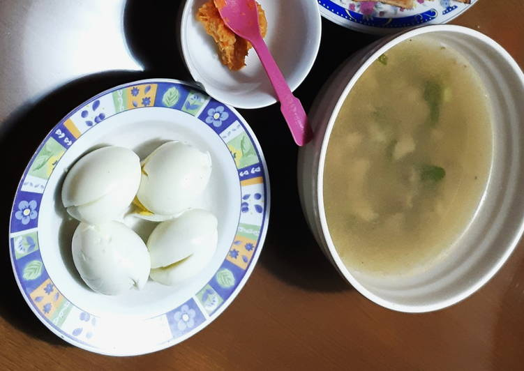 Resep mengolah Soto Sulung Daging Sapi ala resto