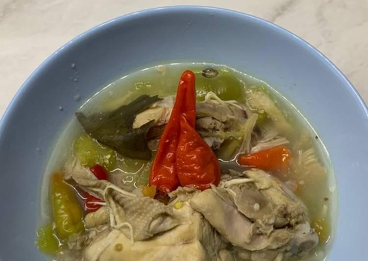 Cara memasak Garang asam kudus tanpa daun pisang yang bikin ketagihan