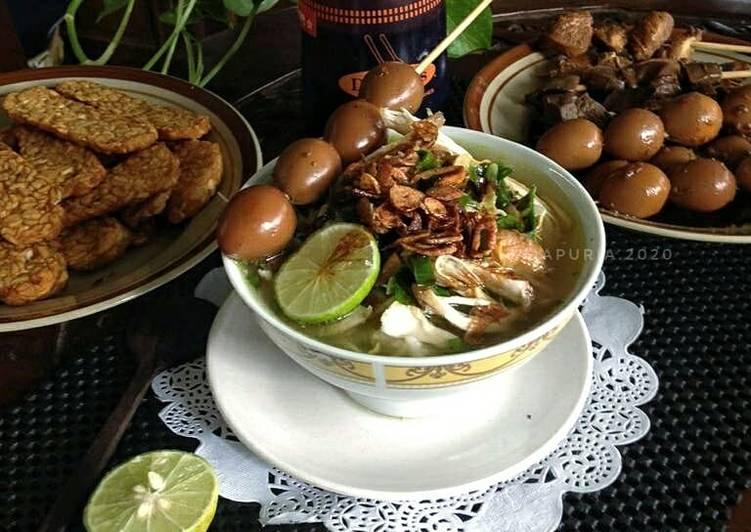 Cara Mudah mengolah Soto ayam khas kudus yang menggugah selera