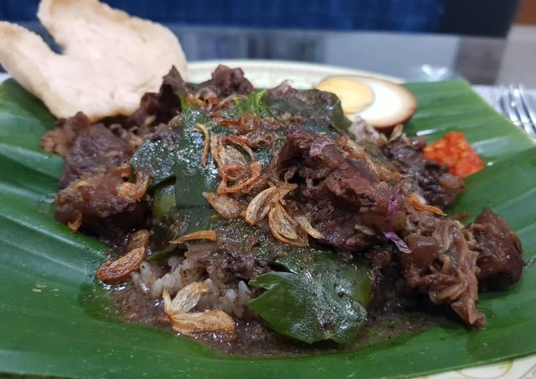 Cara memasak Pindang daging kerbau khas kudus ala resto
