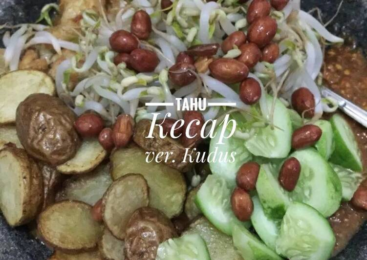 Cara Mudah memasak Tahu kecap kudus enak