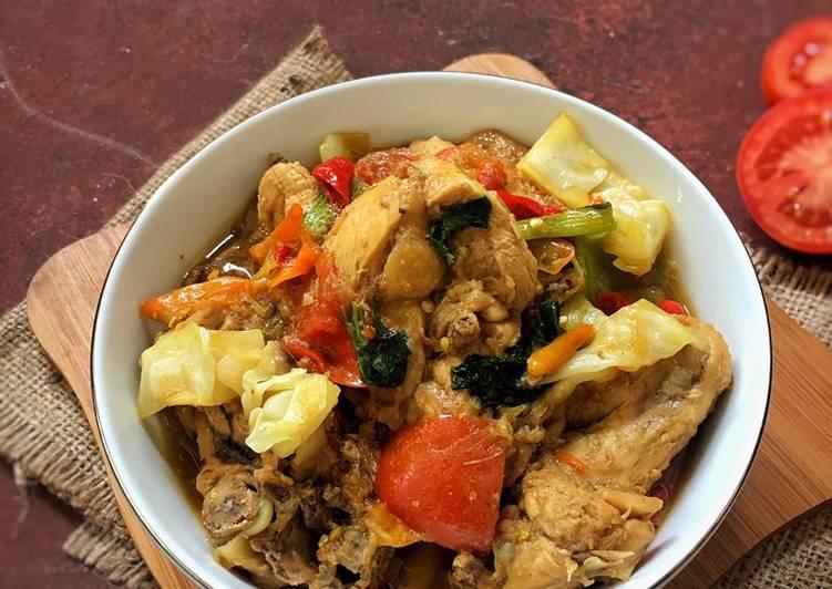 Resep mengolah Gongso Ayam Khas Kudus ala resto