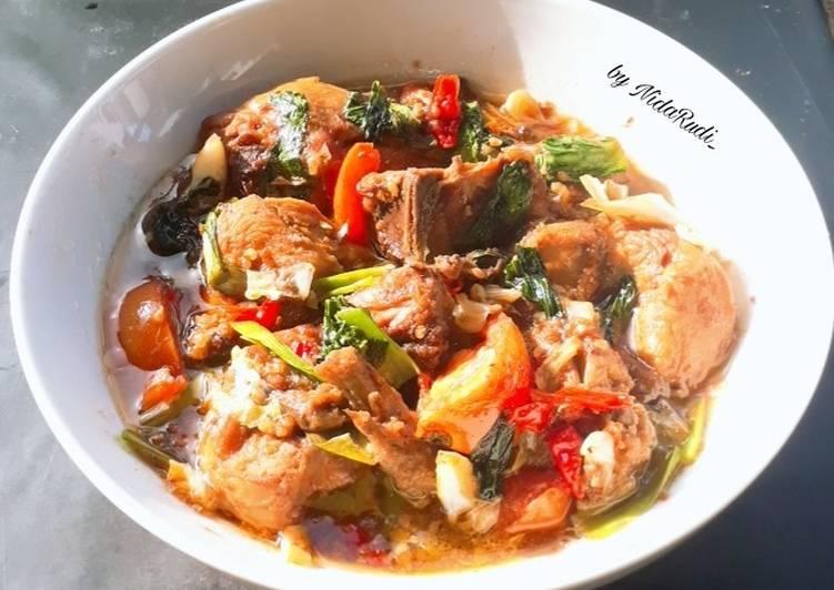 Cara Mudah memasak Gongso Ayam khas Kudus ala resto
