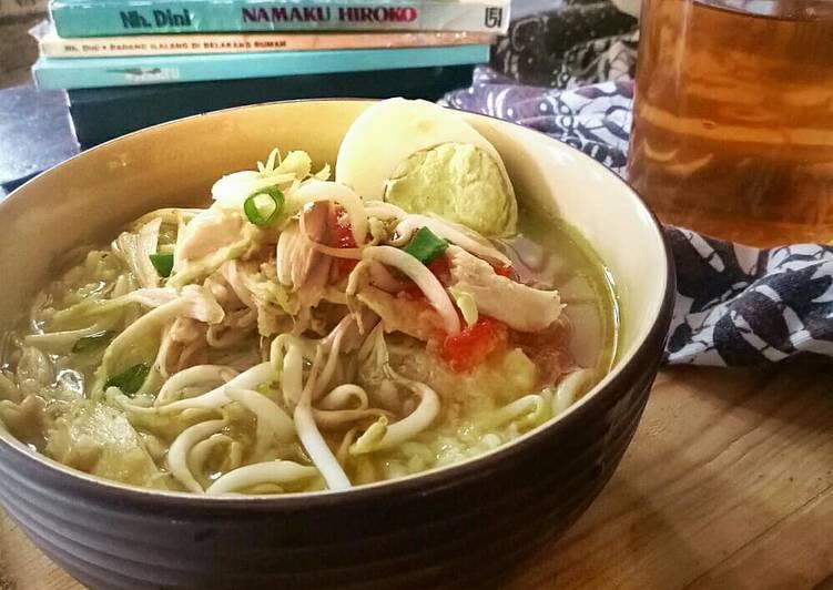 Cara Mudah memasak Soto kudus ala uti istimewa