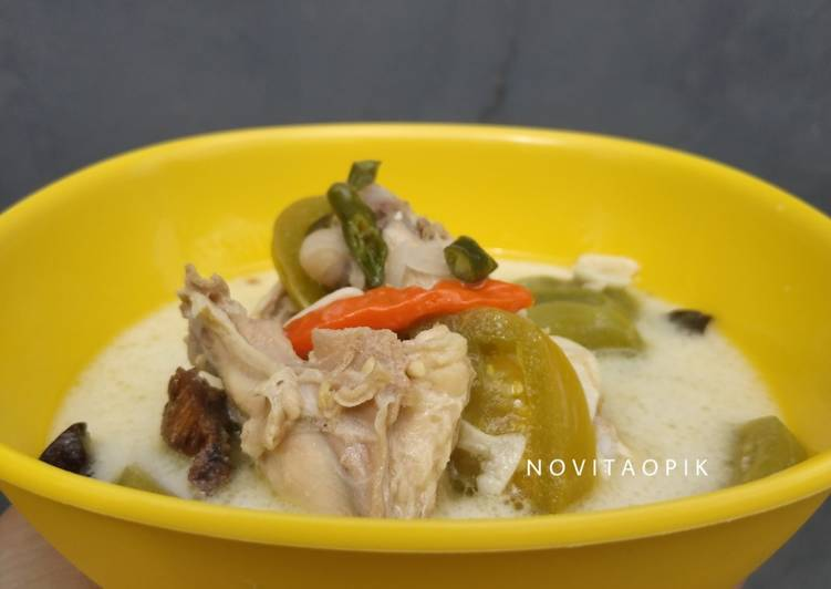 Resep: Garang Asem Ayam Tanpa Belimbing Wuluh yang bikin ketagihan