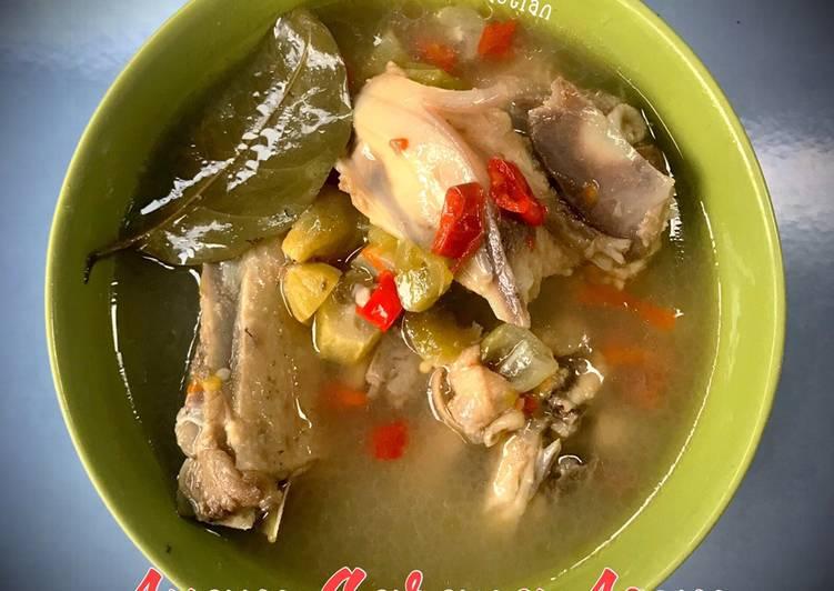 Resep mengolah Ayam Garang Asem yang menggugah selera