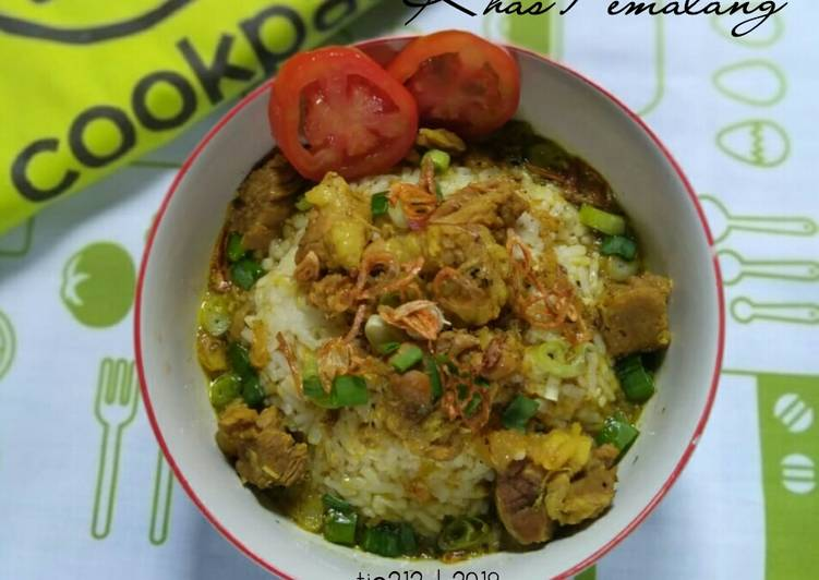 Resep: Nasi Grombyang khas Pemalang lezat