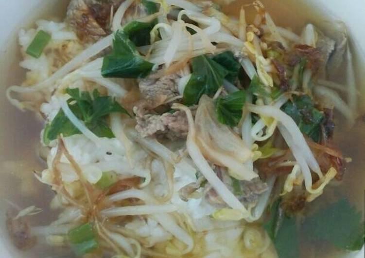 Cara memasak Soto sapi Kudus enak