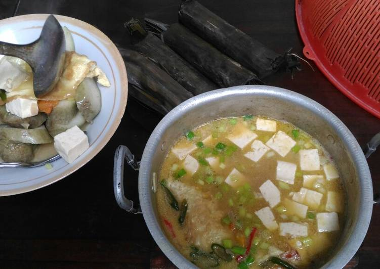 Resep: Sayur petis khas Rembang