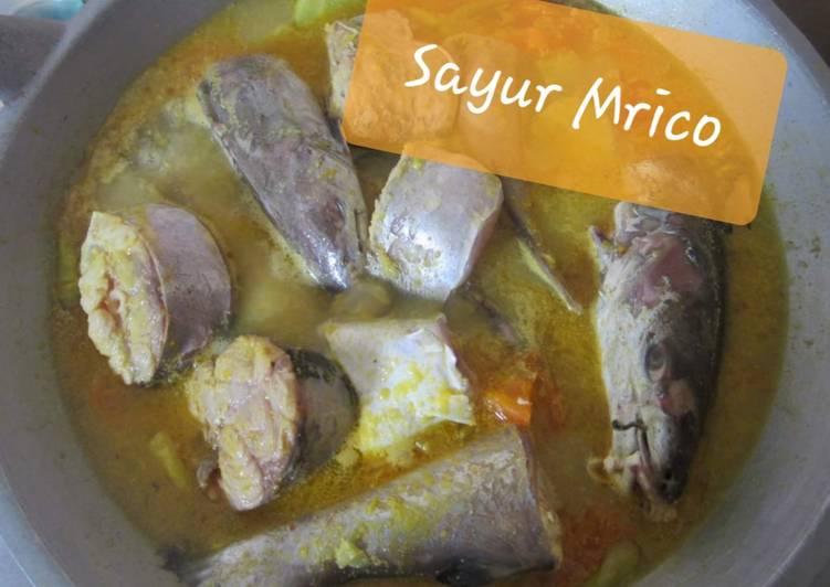 Resep: Sayur Mrico Manyung ala Rembang