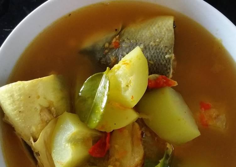 Resep: Sayur mrico aka kelo mrico khas rembang