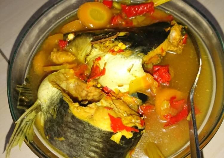 Cara memasak Sayur mrico (khas Rembang) ikan patin