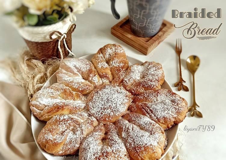 Braided bread gula semut kelapa