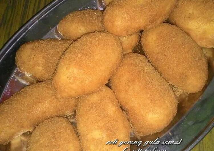 Resep membuat Roti goreng gula semut
