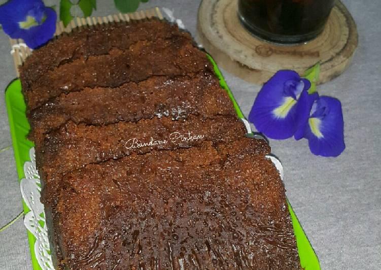 Resep: #214 Bolu Karamel (bolu sarang semut)