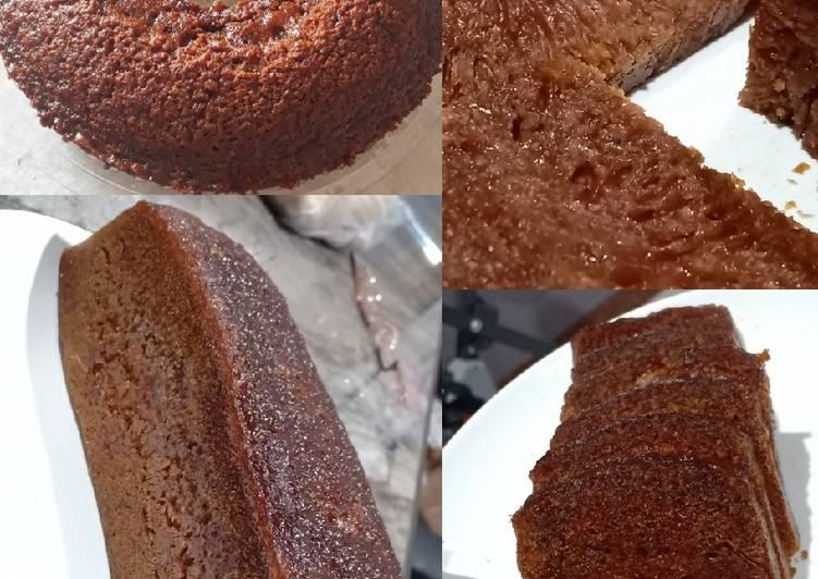 Cara Mudah memasak Bolu Karamel || No mixer No oven || (sarang semut)🍰🐜