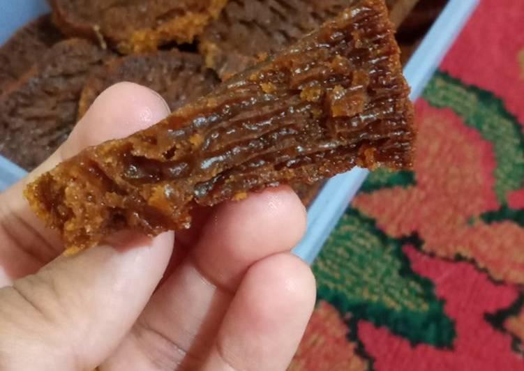 Cara membuat Kue sarang semut / bolu karamel